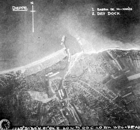 Dieppe from 10 000 ft.