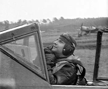 Fw. Hubert Engst in his Fw 190A-8/R2 of 6./JG 300 (Wolgang Engst)