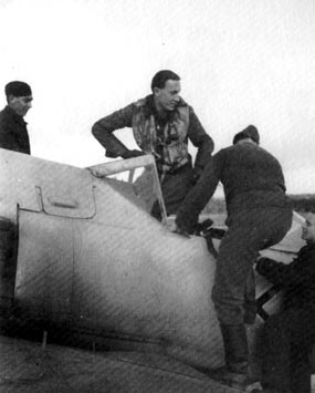 Rolf Hermichen and his Fw 190A-7