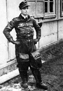 Oberfeldwebel Josef Keil of 10./JG 301. January 1945, Sachau.