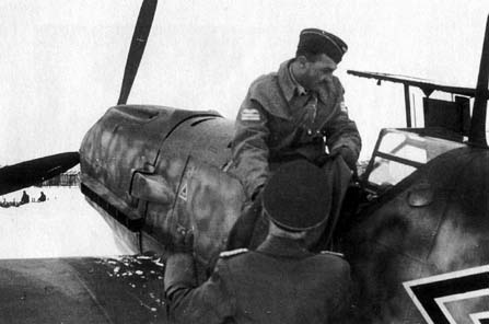 Major Wolfgang Schellmann, Kommodore JG 27, October 1941