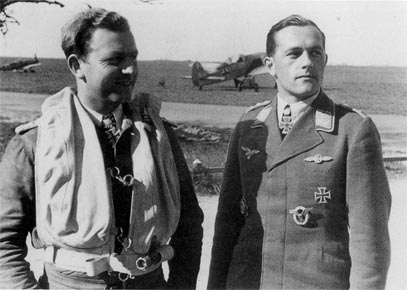 Maj. Oesau and Hptm. Schnell